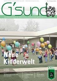 PDF der Aktuellen Ausgabe - G´sund Online