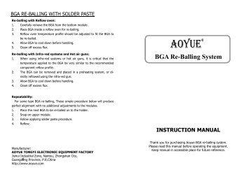 weller pyropen jr instruction manual