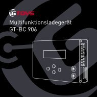 Multifunktionsladegerät GT-BC 906 - GTOYS