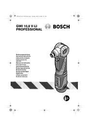 GWI 10,8 V-LI PROFESSIONAL - Grossdepot
