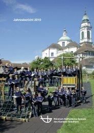 Kath. Synode Jahresbericht 2010.pdf - Guldimann Kommunikation