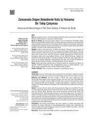 Pdf - Güncel Pediatri Dergisi