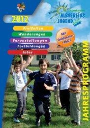 Jahresprogramm Albvereinsjugend 2012