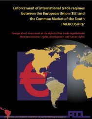 (EU) and the Common Market of the South (MERCOSUR)? - FDCL