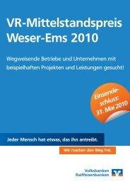 Bewerbungsbogen - Genossenschaftsverband Weser-Ems eV ...