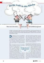 Konfliktmanagement - GV-Partner Akademie