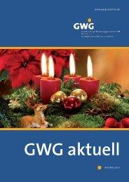 GWG aktuell - GWG Weimar