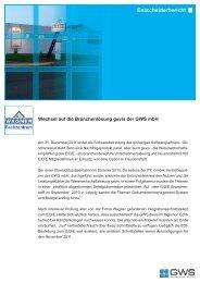 Otto Wagner GmbH & Co. KG - GWS mbH