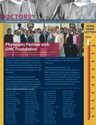 Physicians Partner with GMC Foundation - GwinnettMD