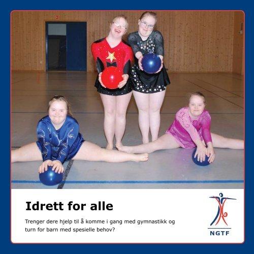 brosjyre - Norges gymnastikk og turnforbund