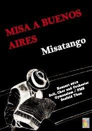 Misa a Buenos Aires - Gymnasium und Fachmittelschule Thun Seefeld