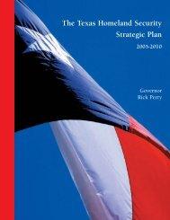 Home Land Security Strategic Plan - Houston-Galveston Area Council
