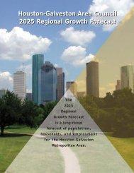 Houston-Galveston Area Council 2025 Regional Growth Forecast ...