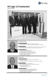 H2 Logic A/S bestyrelse