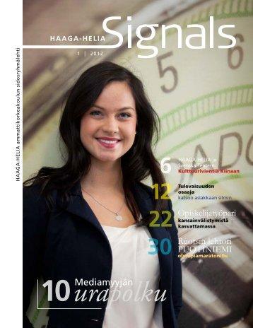Signals 1/2012 - HAAGA-HELIA ammattikorkeakoulu