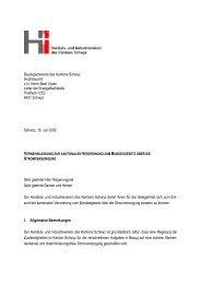 Vernehmlassung - beim Handels- und Industrieverein des Kantons ...