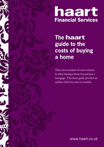 The guide to the costs of buying a home - Haart