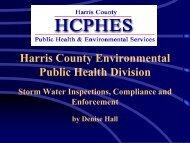 Harris County Environmental Public Health Division