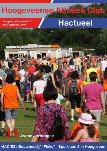 Juli/Augustus 2010 - Hac '63