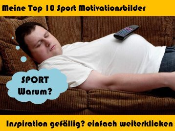 Top10 Sport Motivationsbilder