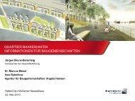 Präsentation zur Informationsveranstaltung für ... - HafenCity