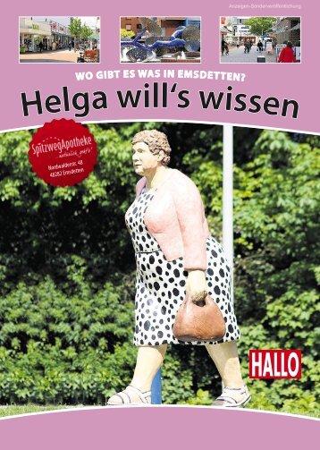 Helga will's wissen