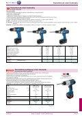 Elektrické nářadí, pneumatické nářadí, práci usnadňující pomůcky ... - Page 7