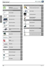 Measurement Tools - HAHN+KOLB Werkzeuge GmbH
