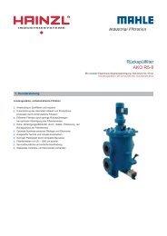 Rückspülfilter AKO R5-8 - Hainzl