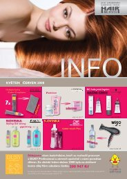 program školení - Hair servis
