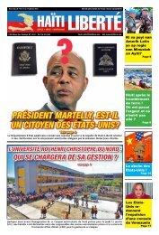 Président Martelly, est-il un citoyen des états-unis? - Haiti Liberte