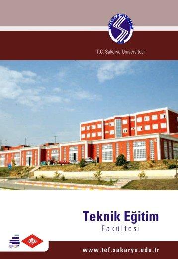 Teknik Eğitim Fakültesi - Sakarya Üniversitesi