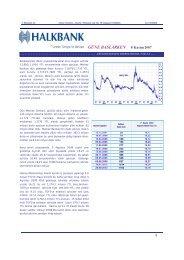 GÜNE BASLARKEN 8 Kasim 2007 - Halkbank