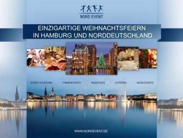 Nord Event_Weihnachtensangebote_2012 - Hamburg Locations