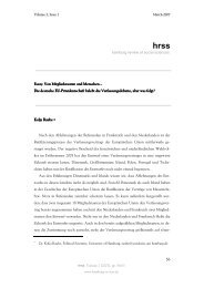 March_2007_Kolja Raube - Hamburg Review of Social Sciences