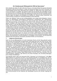 Bildungsplanreform 2004