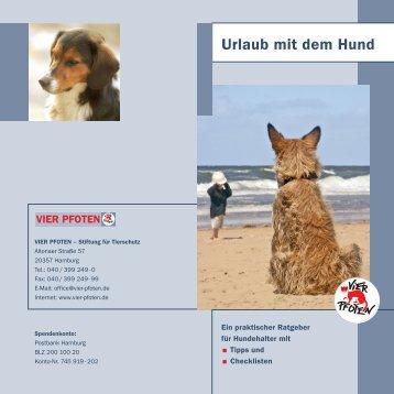 Urlaub mit dem Hund - Hamburger Illustrierte