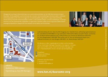 Naar duurzame zorg - Hogeschool van Arnhem en Nijmegen