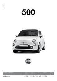 VERSIONEN UND PREISE 500