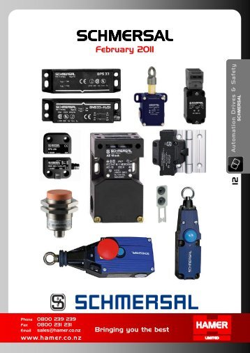 Catalogue PDF - Hamer Limited