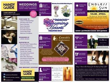 WEDDINGS - Handy Guide Inc