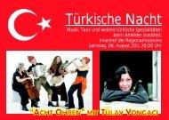 Türkische Nacht - Evangelische und Katholische Erwachsenenbildung ...