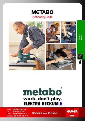 H6. Metabo