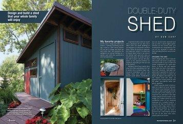 Shed - Handyman Club of America