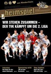 der tvk kämpft um die 2. liga - TV Korschenbroich Handball