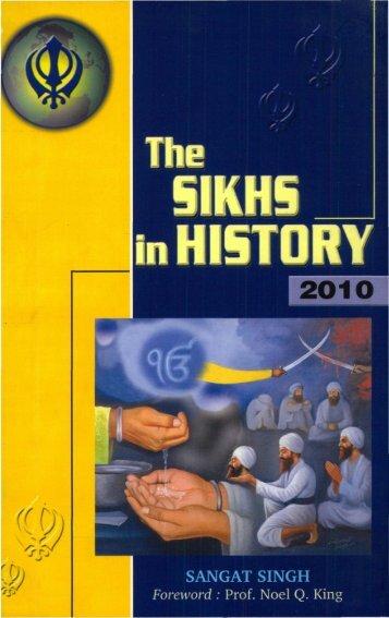 Sikh history - Gurmat Veechar