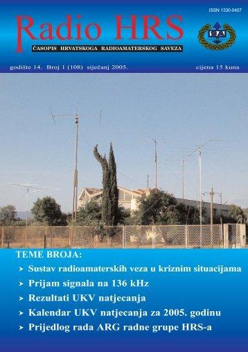 Radio HRS 1/05 - Hrvatski Radioamaterski Savez