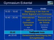 Gymnasium Eckental