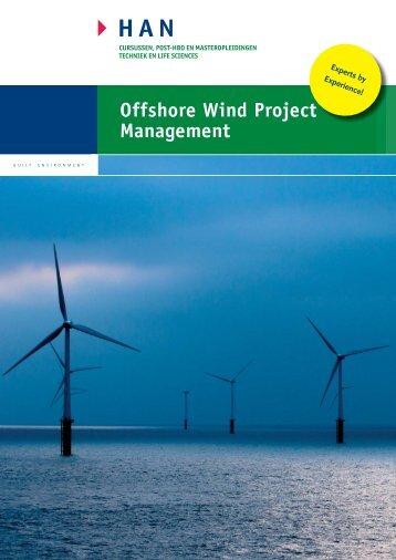 Offshore Wind Project Management - Hogeschool van Arnhem en ...