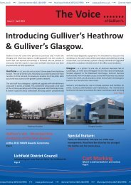 Gulliver's Newsletter 3 - Gullivers